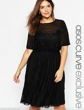 ASOS Short Sleeve Casual Plus Size Dresses for Women