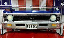 1969 Chevrolet Nova SS Resin Wall Shelf, Blue