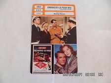 CARTE FICHE CINEMA 1957 EMBRASSE LA POUR MOI Cary Grant Jayne Mansfield S.Parker