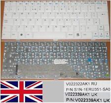 Teclado Qwerty UK MSI Wind U100 U120 V022322AK1 S1N-1ERU351-SA0 V022339AK1