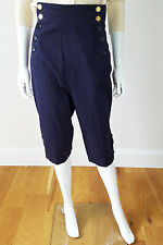 * CHANEL * Vintage Vita Alta Pantaloni Capri (40)