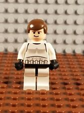 Lego Star Wars Han Solo In Stormtrooper Outfit Minifig FREE SHIPPING sw205 10188