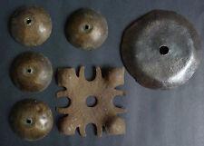 Lot de clous décoratif de porte Haute époque Moyen-age fer forgé