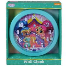 "10"" Shimmer and Shine Clock Quartz Wall Mount Clock Children Room Decor Gift"