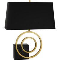 Robert Abbey Lighting R911B Jonathan Adler Saturn - Two Light Table Lamp