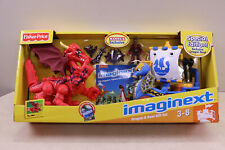 Fisher Price Imaginext Knights Castle Dragon & Boat / Ship Gift Set Accessories