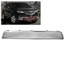 ACURA 2010 2011 2012 2013 MDX FRONT BUMPER STAINLESS STEEL MESH GRILLE CHROME