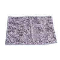 Non-slip Super Soft Shag Bathroom Rugs  Shower Bath Mats Rug - Dark Microfiber