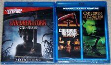 Horror Blu-ray Lot - Children of the Corn Genesis (New) V & 666 (New)