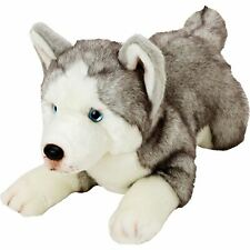 "Yomiko Classic Husky Dog 10"" Stuffed Animal Plush by Russ Berrie Brand new"