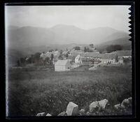 Francia Mont-Dore c1900 Foto Negativo Placca Da Lente Vintage VR