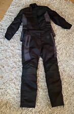 Ladies Triumph Motorcycle Jacket (L) & Trousers (M) Textile New Black Biker