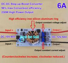 230W DC-DC Boost Step up Converter 12V 24V 36V to 15V 24V 36V 48V 6A Power CCCV