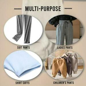 Pants Edge Shorten Self-Adhesive Pants Mouth Paste Rolled Close Trouser BEST