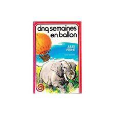 CINQ SEMAINES EN BALLON Jules VERNE Voyages Extraordinaires ZANZIBAR au Sénégal