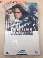 Hot Toys MMS 351 Captain America 3 Civil War Winter Soldier Bucky Sebastian Stan