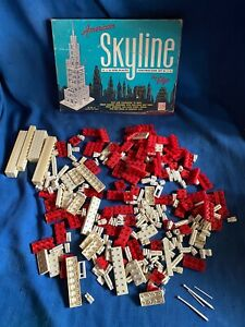 American Skyline Plastic Construction Set #91 Vintage ELGO Extra Pieces 1950s