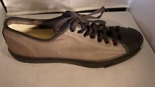 CONVERSE Mens Gray/Black Jack Purcell Canvas Low Tops Size 13US 47.5EU