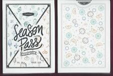 1 Deck Season Pass custom playing cards Free Usa Ship