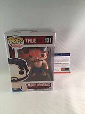 JOE MANGANIELLO SIGNED ALCIDE HERVEAUX TRUE BLOOD FUNKO POP FIGURE PSA DNA 5