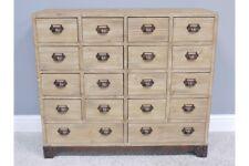 18 Drawer Wooden Storage Cabinet Vintage Style Sideboard Dresser Chest Unit New