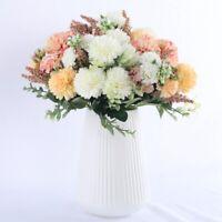 Hydrangea Silk Flower Artificial Home Wedding Decor Fake Flower Bouquet Dp