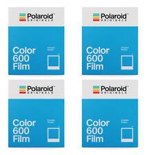 4 Pk Polaroid Originals 4670 Instant Color Film for Polaroid 600 Type Cameras