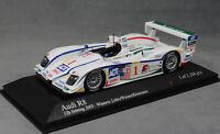Minichamps Audi R8 Sebring 12H Win 2005 Lehto Werner Kristensen 400051301 1/43