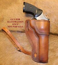 Gary Cs Leather Avenger Revolver Holster Sampw N Frame 65 With Thigh Strap
