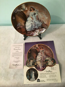 "Rob Sauber ""Caroline"" American Bride Collector Plate Limited Edition # 2822R"