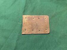Civil War Sheet Brass Belt Plate Dug Confederate Camp Dumfries Virginia