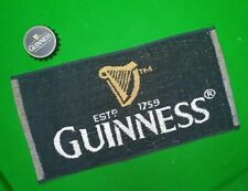 Genuine 'Guinness' Beer Towel Or Cue Towel & Bottle Opener NEW. Gift idea!