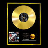 CD GOLD DISC BY U2 THE ALBUM ACHTUNG BABY LP VINYL RECORD FREE P+P!