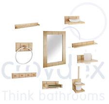 Sets d'accessoires en bois pour la salle de bain