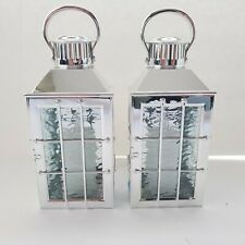 2 Bath & Body Works WALLFLOWER LANTERN With CANDLE Nightlight - Light Up 24/7