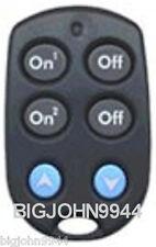X10 KR19A / RKR24 2 Unit Code Slim Fire Keychain Remote Factory Fresh