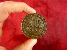 Bronzemedaille 1920 Ehrengabe des Nussdorfer MGV Medaille Bronze Sammlerstück