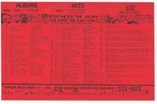 13Q Wktq Pittsburgh Vintage August 27 1977 Music Survey Fleetwood Mac Rumours #1