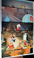 4 Jaymar Disney Puzzles Movie Classics CINDERELLA SNOW WHITE LADY TRAMP PETER PA