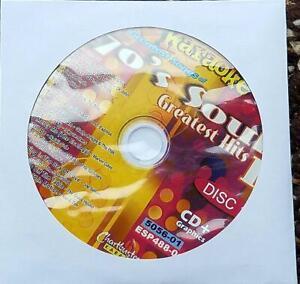 70'S SOUL CDG KARAOKE GREATEST HITS R&B ESP488-01 CHARTBUSTER EARTH WIND FIRE CD