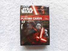 Star Wars Villians Deck of Playing Cards New Sealed