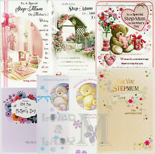 Step-Mum / Stepmum Mother's Day Card - Various Designs Available