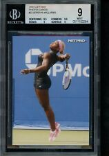 2003 NetPro #2 Serena Williams Photo Card Rookie BGS 9 w/ 9.5/9.5/9/9 Mint