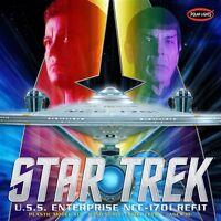 Polar Lights 1:350 Star Trek USS Enterprise Refit Plastic Model Kit POL949