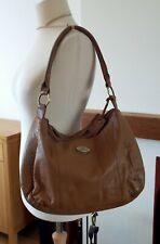 Over 40/% Off Large Rowallan Black Suede Leather Handbag Tote bag Shoulder Bag
