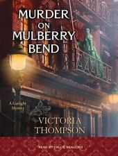 Gaslight Mystery: Murder on Mulberry Bend 5 by Victoria Thompson (2016, MP3...