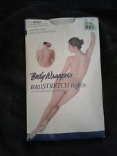 df4c63a561e6b BODY WRAPPERS Adult A91 Full Body Convertible Foot Clear Straps Tights Nude  S/M