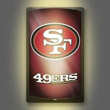 San Francisco 49ers NFL Licensed MotiGlow™ Light Up Sign - Free USA shipping!