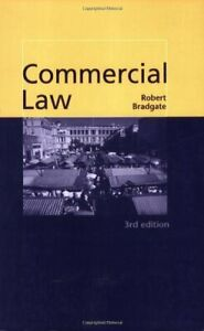 Commercial Law by Bradgate, Robert Paperback Book The Cheap Fast Free Post