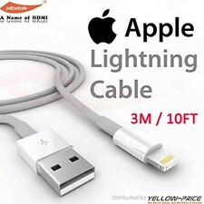 FOR APPLE IPHONE 6 PLUS CHARGER CABLE USB DATA CHARGING IPHONE 6 5S 5C IOS8 10FT